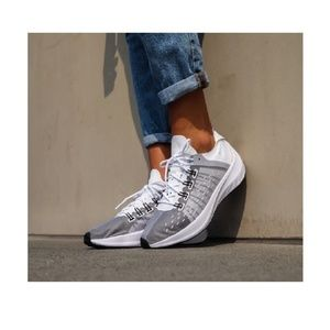 NIKE EXP X14 AO3170-100 White Black Wolf Grey